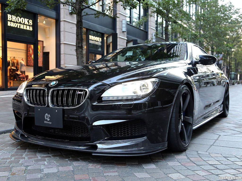 Foto 0 de BMW 3D-Design M6 GranCoupe 2013