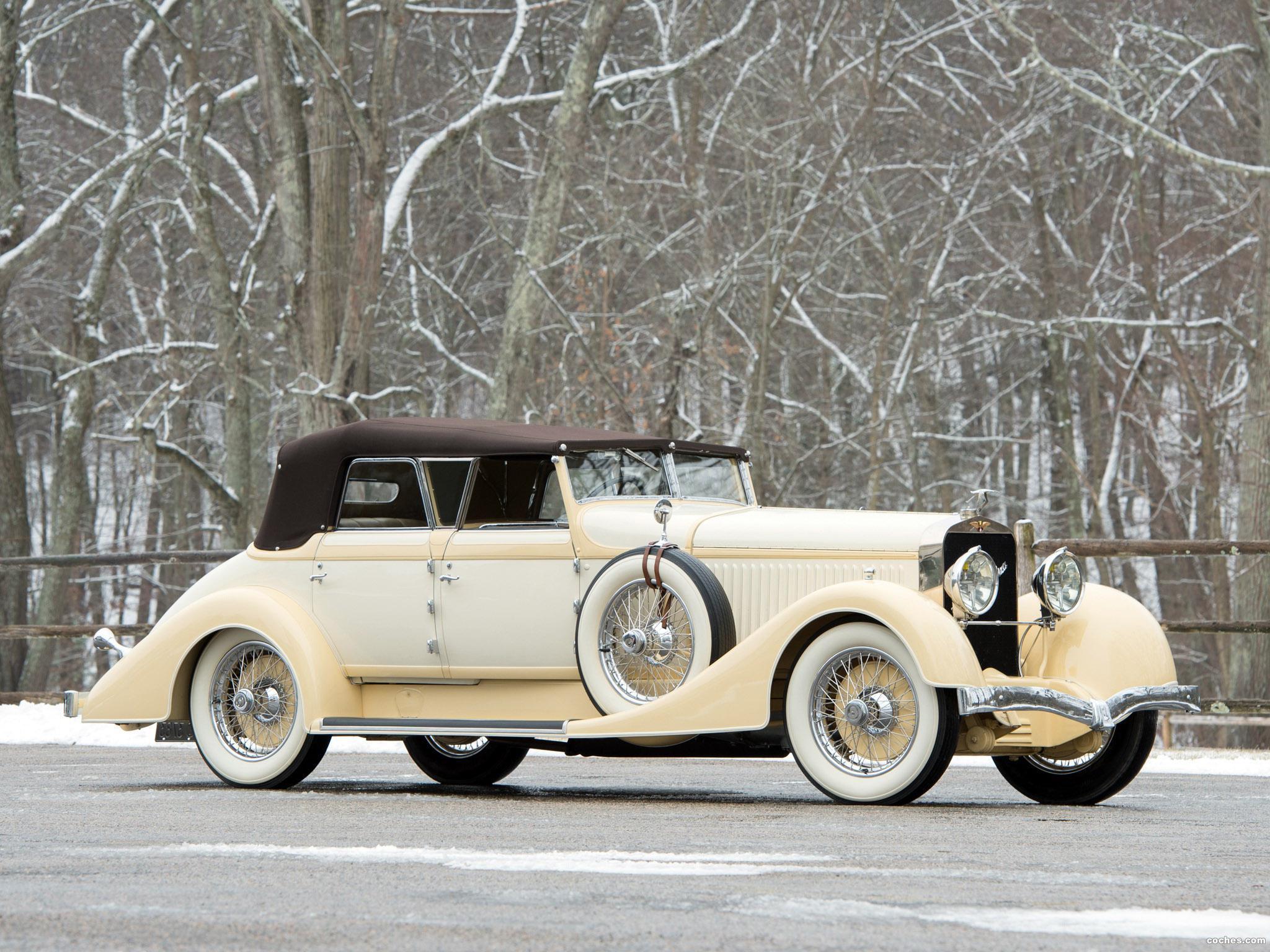 Foto 23 de Hispano Suiza H6C Convertible Sedan by Hibbard and Darrin 1928