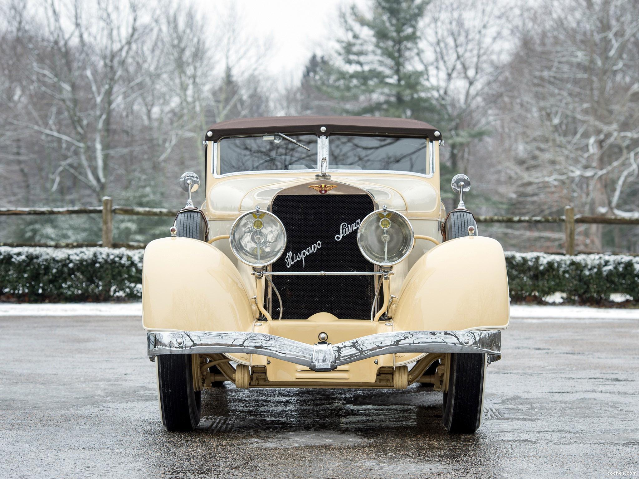 Foto 25 de Hispano Suiza H6C Convertible Sedan by Hibbard and Darrin 1928