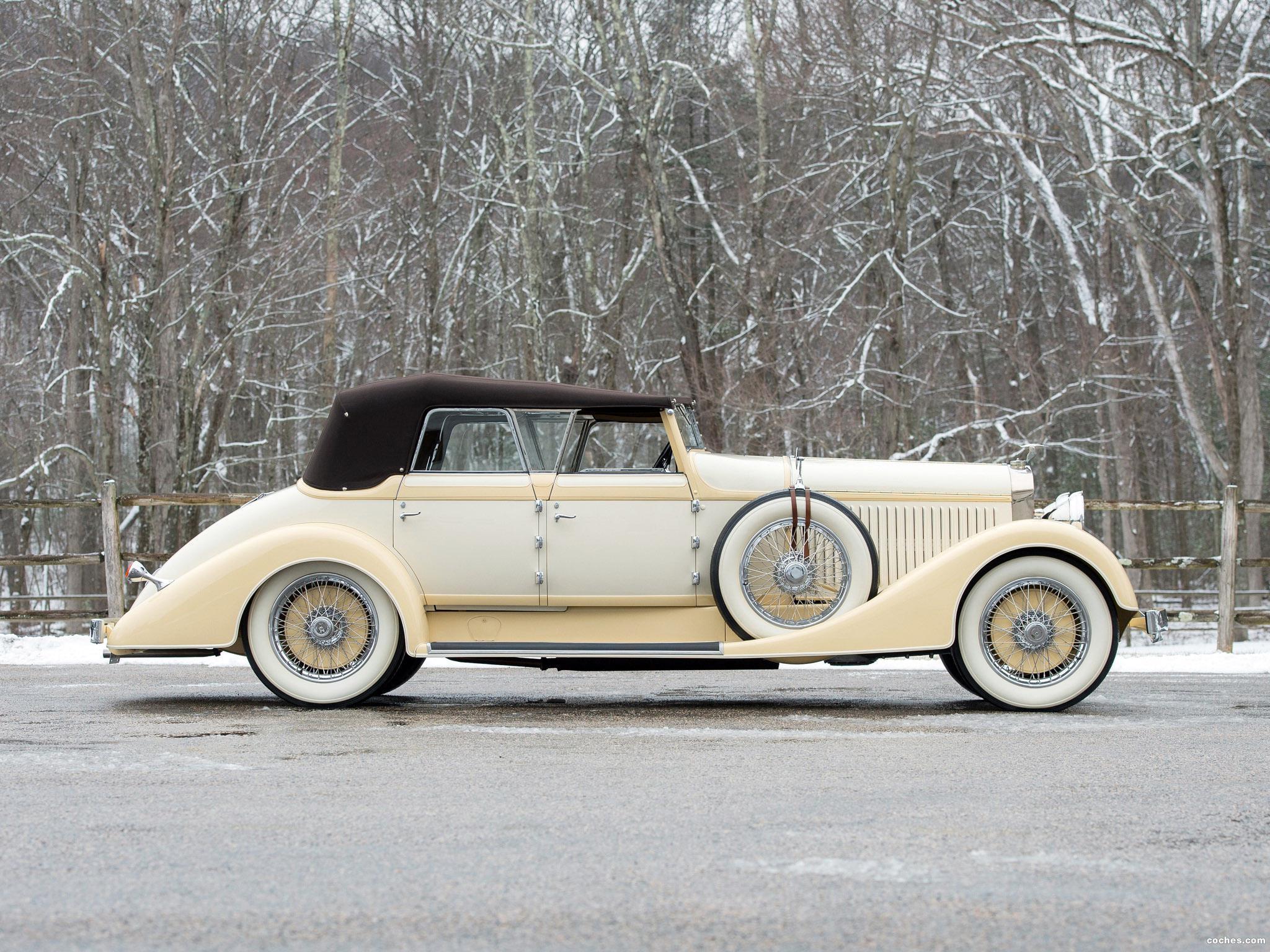 Foto 21 de Hispano Suiza H6C Convertible Sedan by Hibbard and Darrin 1928