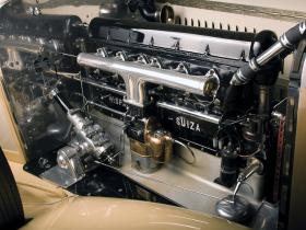 Ver foto 17 de Hispano Suiza H6C Convertible Sedan by Hibbard and Darrin 1928