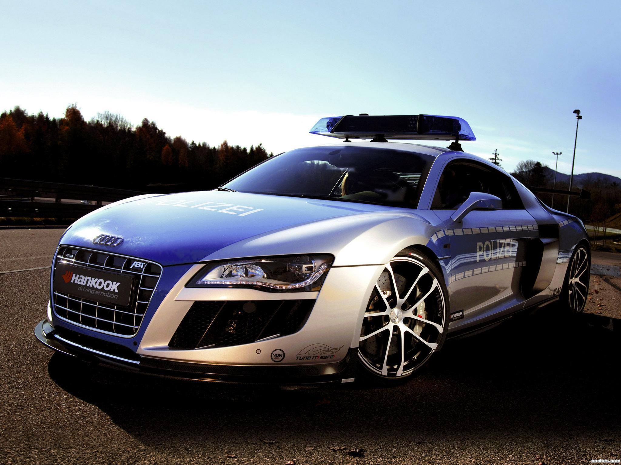 Foto 0 de Audi ABT R8 GTR Tune it Safe Police Car Concept 2011