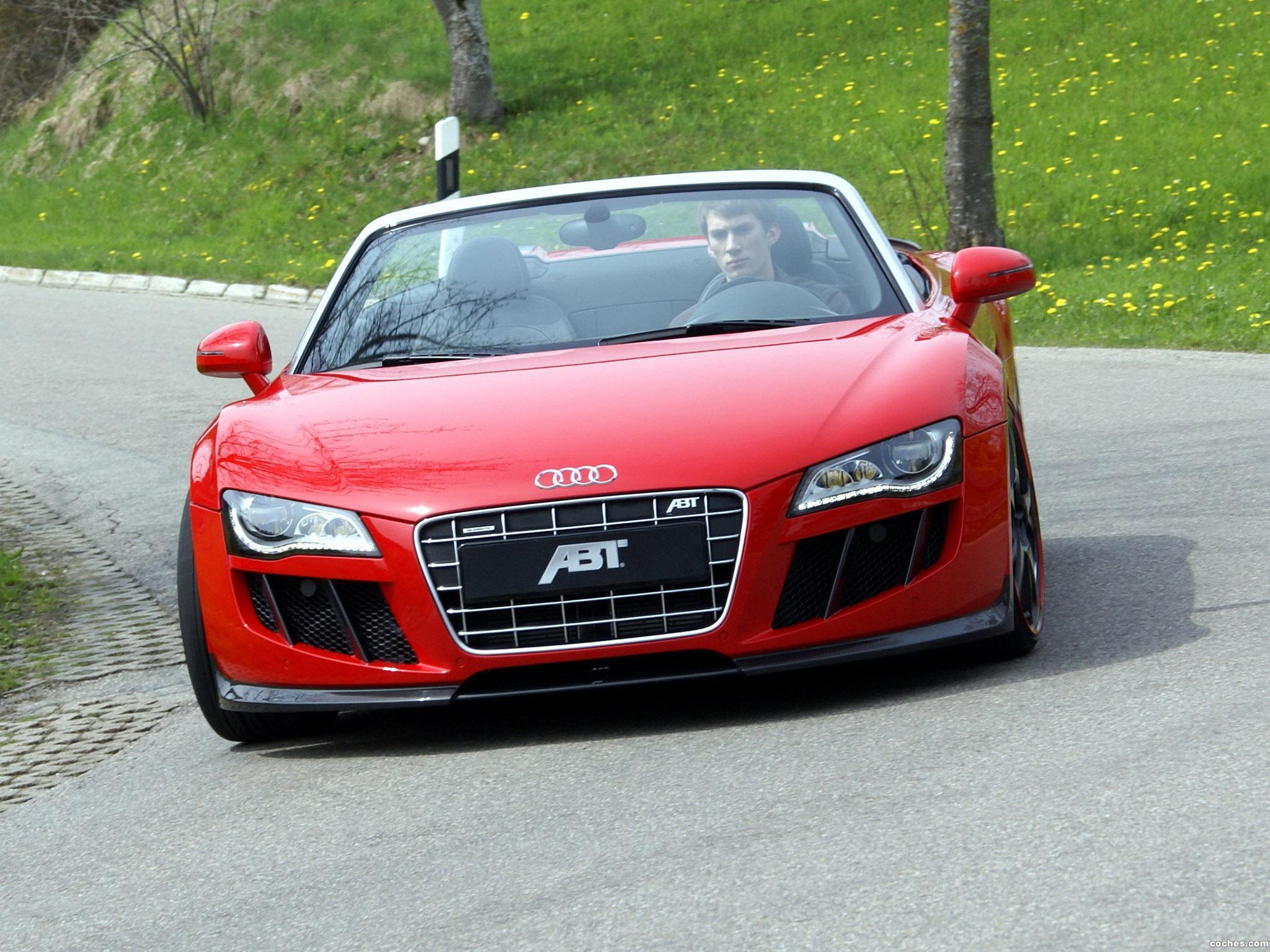 Foto 0 de Audi R8 Spyder abt 2010