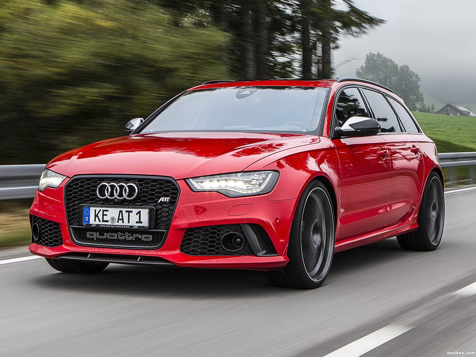 Foto 0 de Audi ABT RS6 Avant 2013