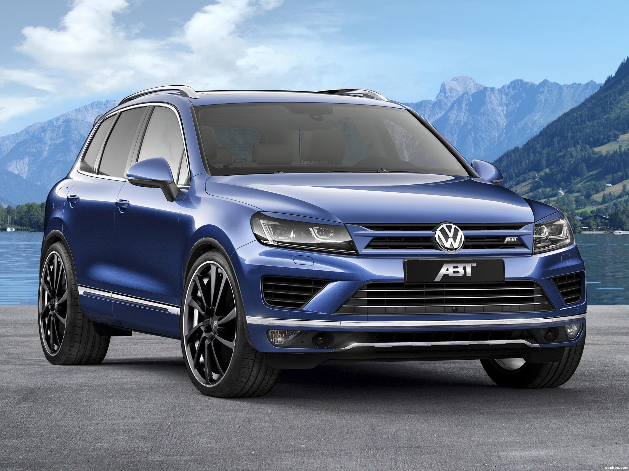 Foto 0 de Volkswagen ABT Touareg 2015