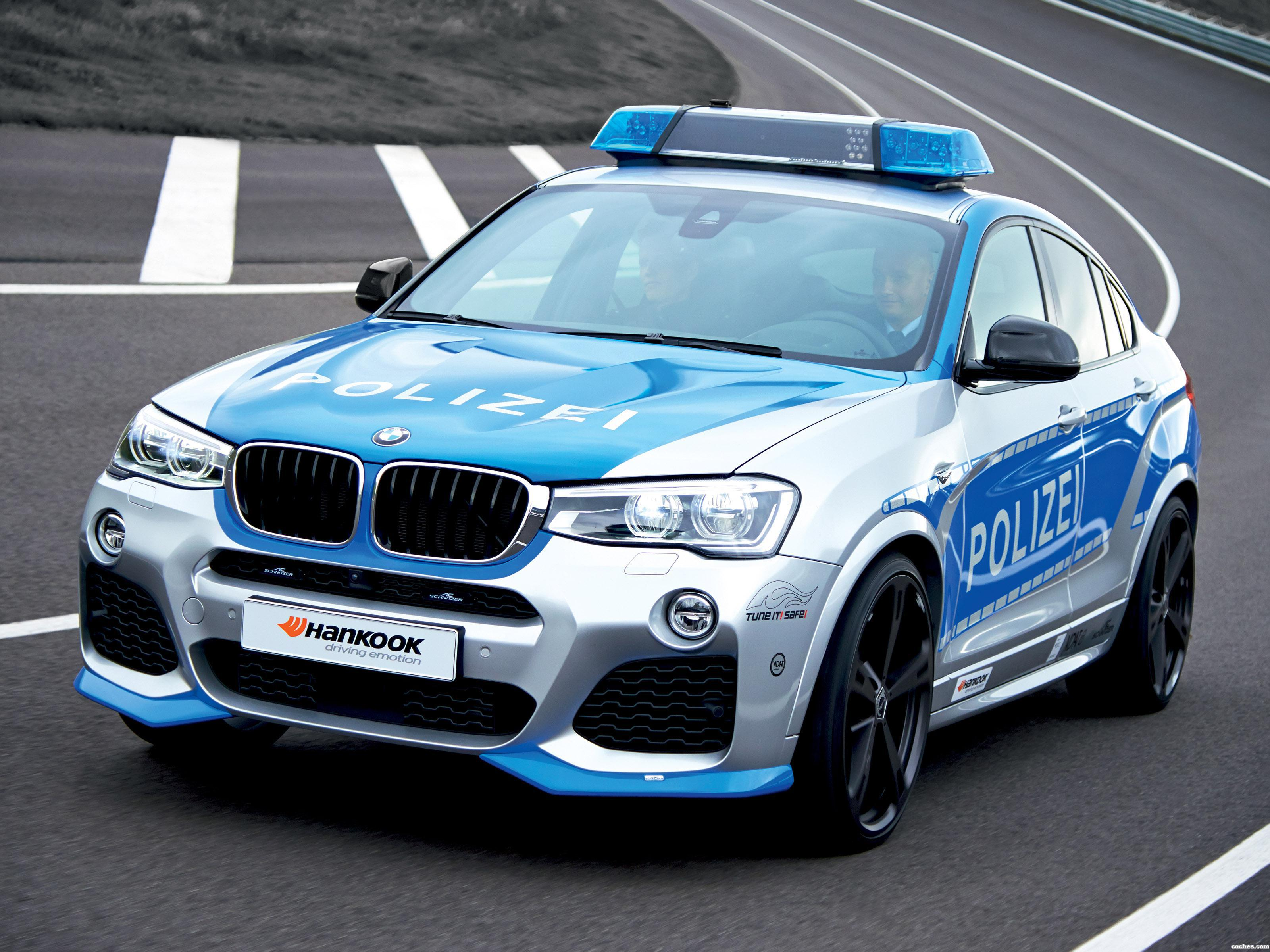 Foto 0 de AC-Schnitzer BMW X4 ACS Polizei Tune ItI Safe! Conc 2014