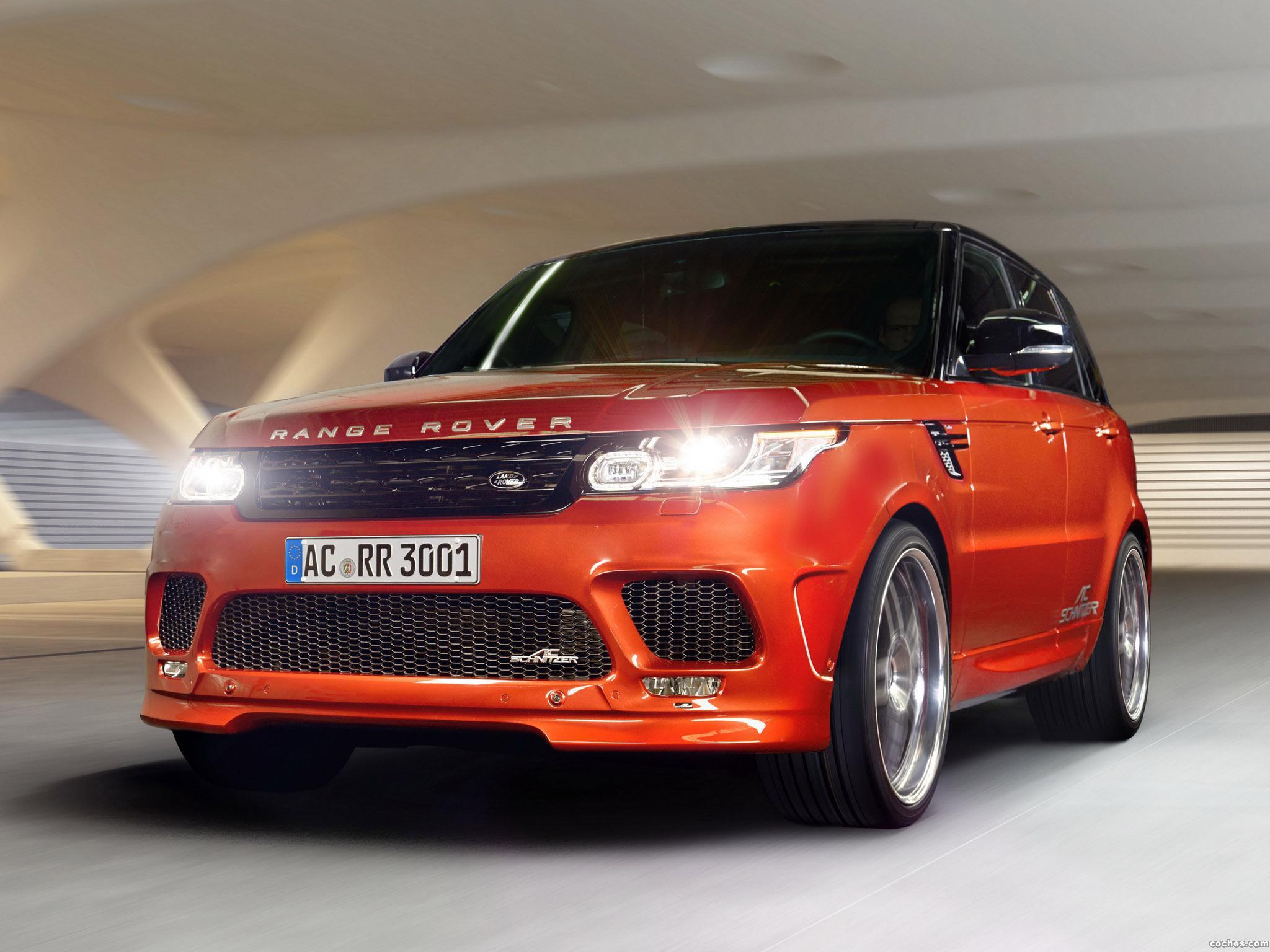 Foto 0 de AC-Schnitzer Land Rover Range Rover Sport 2014