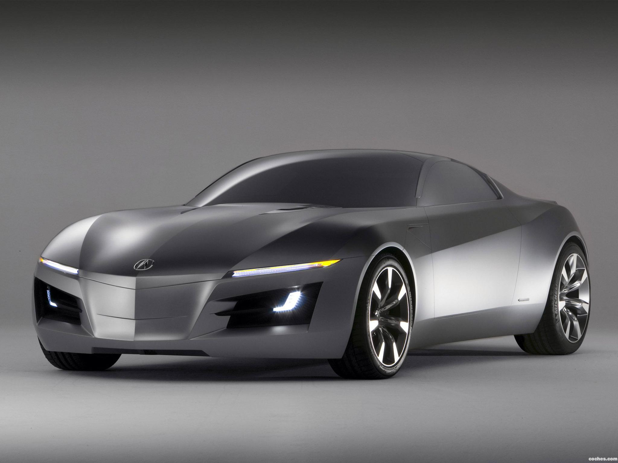 Foto 0 de Acura Advanced Sports Car Concept 2007