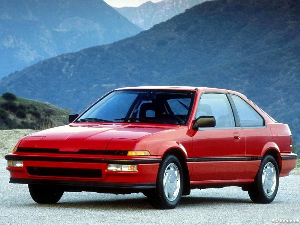 Foto 0 de Acura Integra 3-door 1986