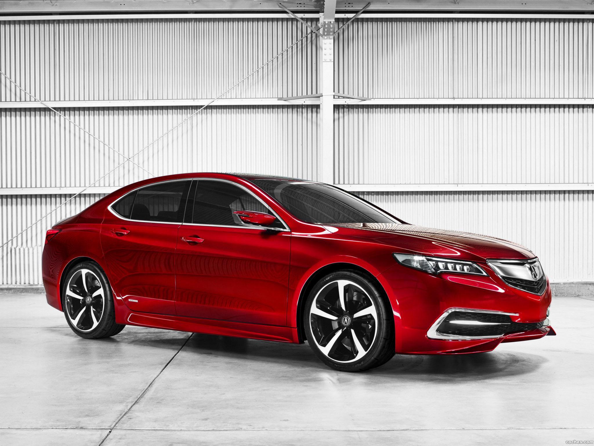 Foto 0 de Acura TLX Concept 2014