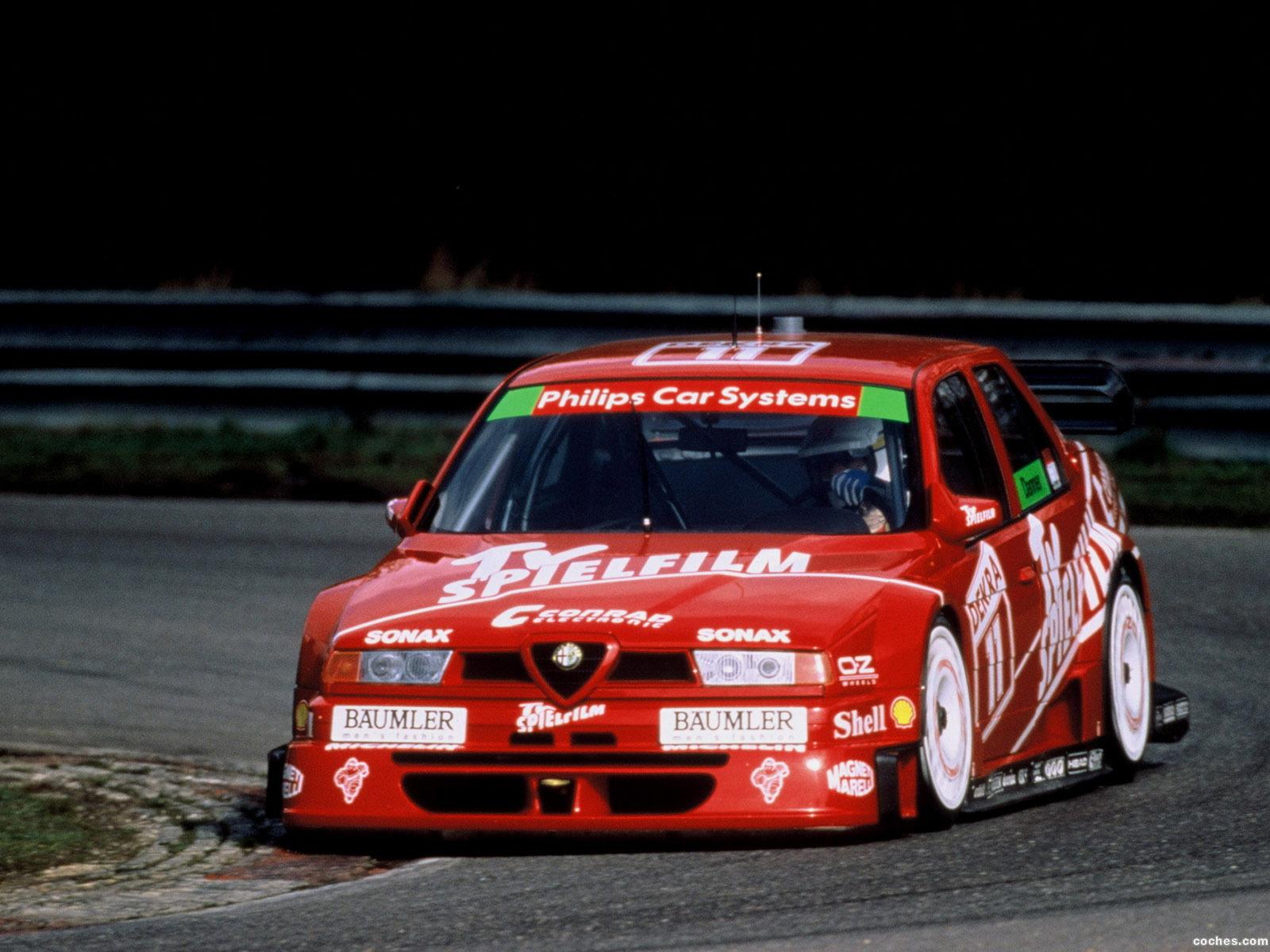 Foto 0 de Alfa Romeo 155 2.5 V6 TI DTM 1993