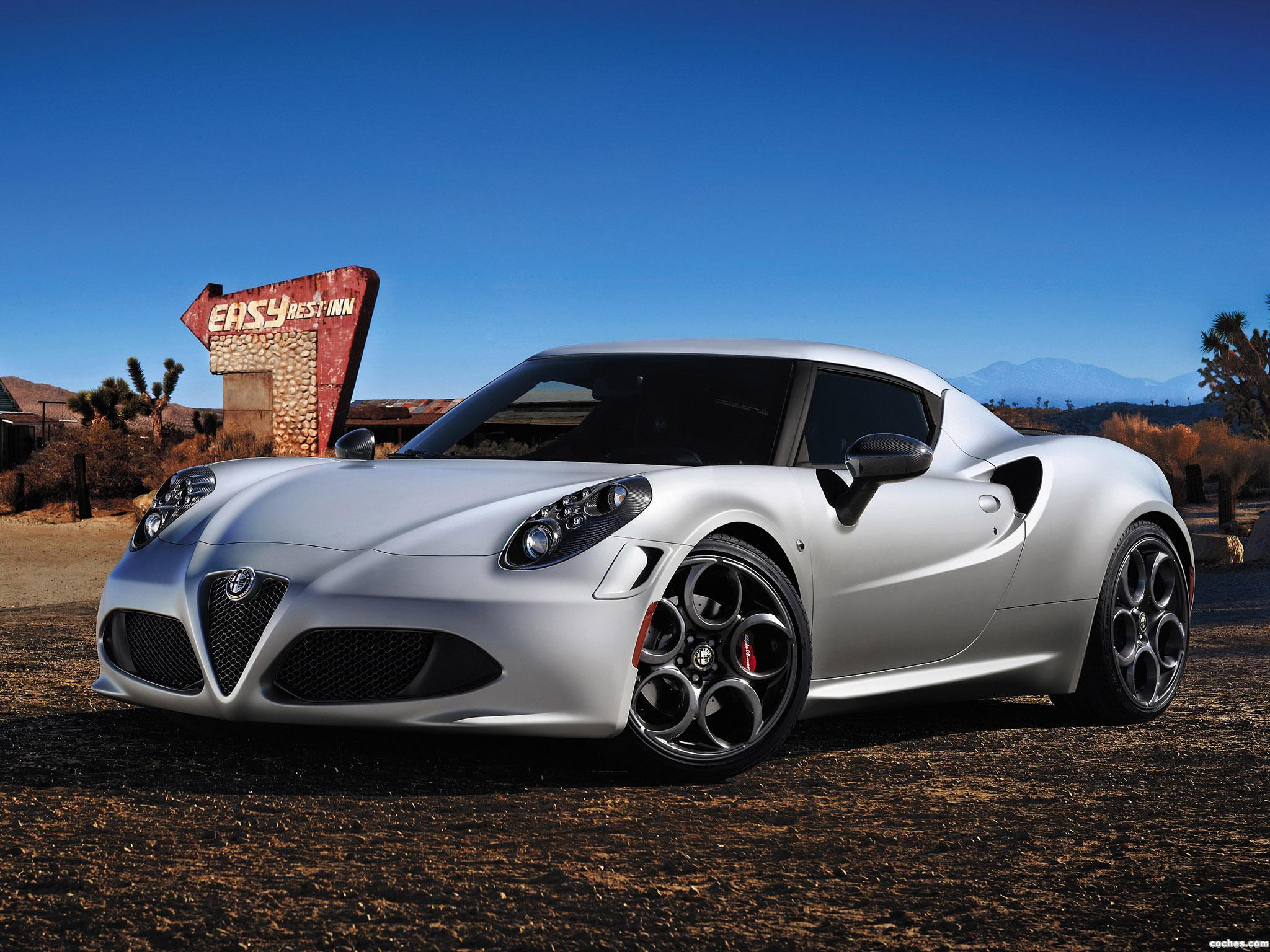 Foto 0 de Alfa Romeo 4C Launch Edition 2013