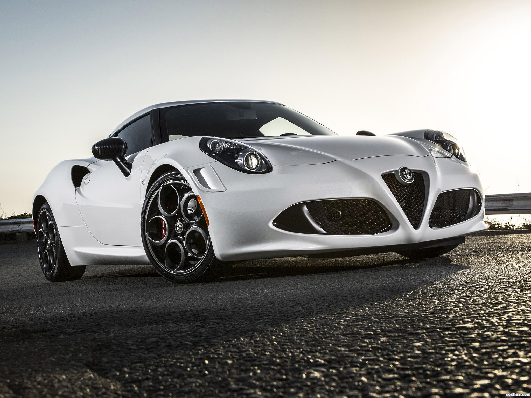 Foto 0 de Alfa Romeo 4C Launch Edition USA 2014