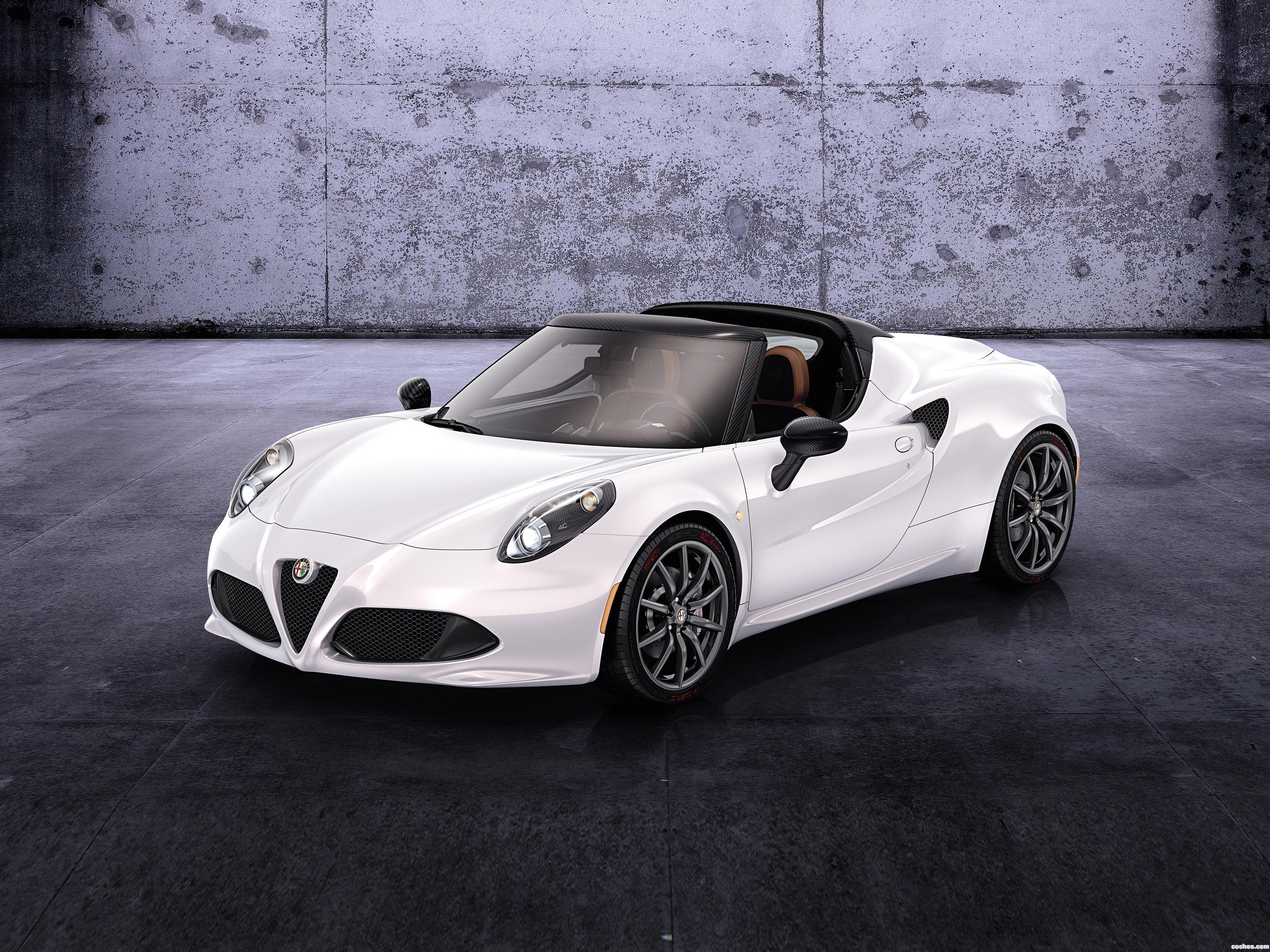 Foto 0 de Alfa Romeo 4C Spider Concept 2014