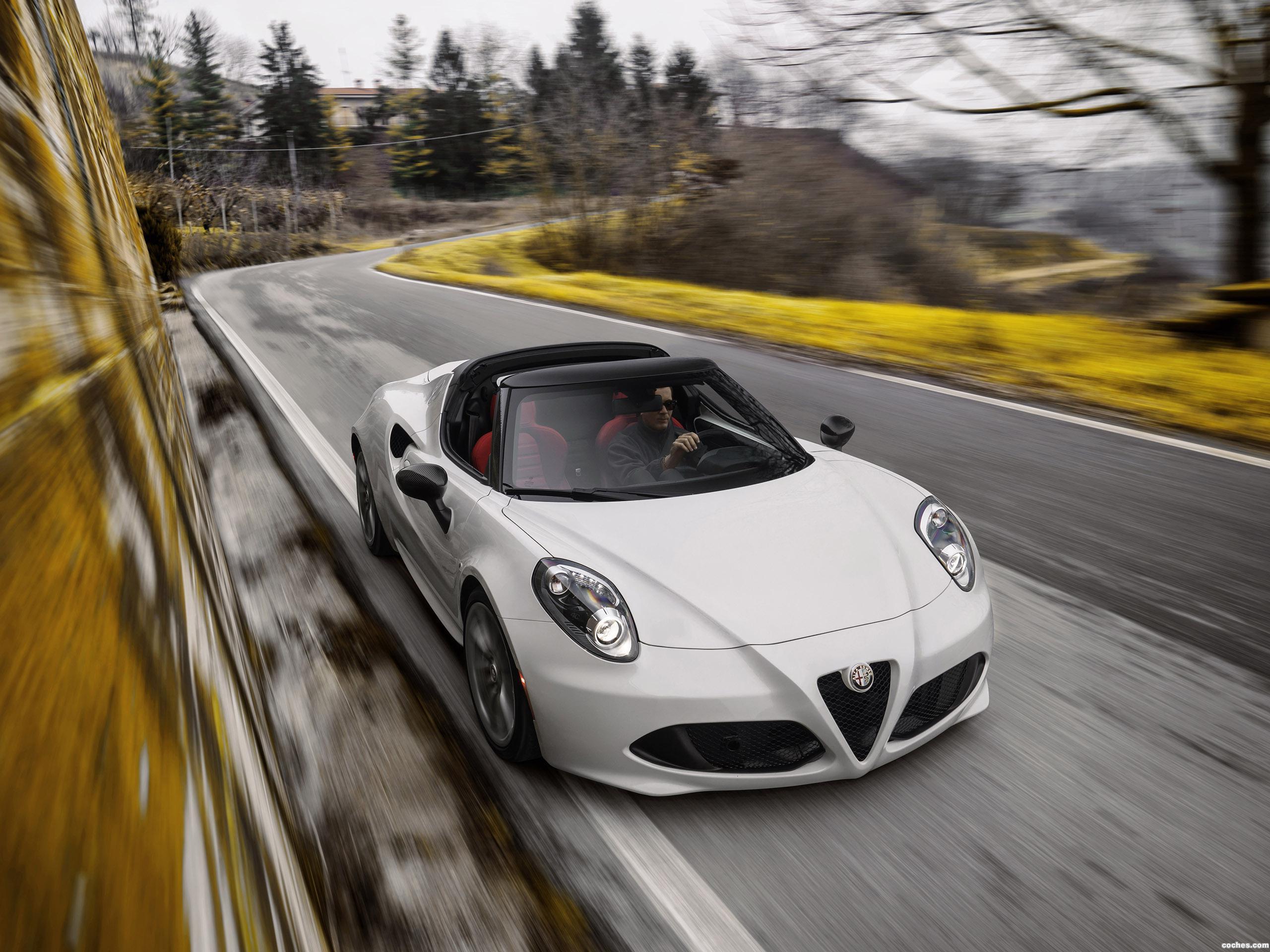 Foto 0 de Alfa Romeo 4C Spider USA  2015