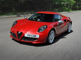 Fotos de Alfa Romeo 4C UK 2014