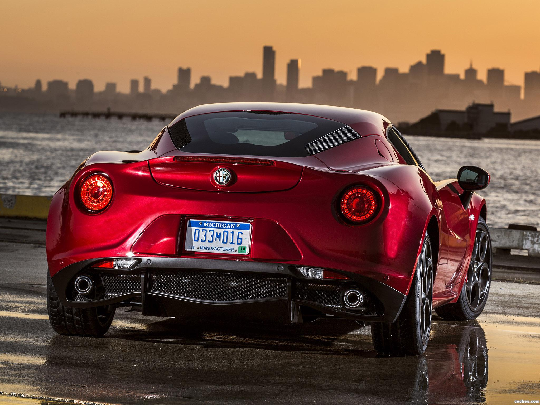 Foto 6 de Alfa Romeo 4C USA 2014