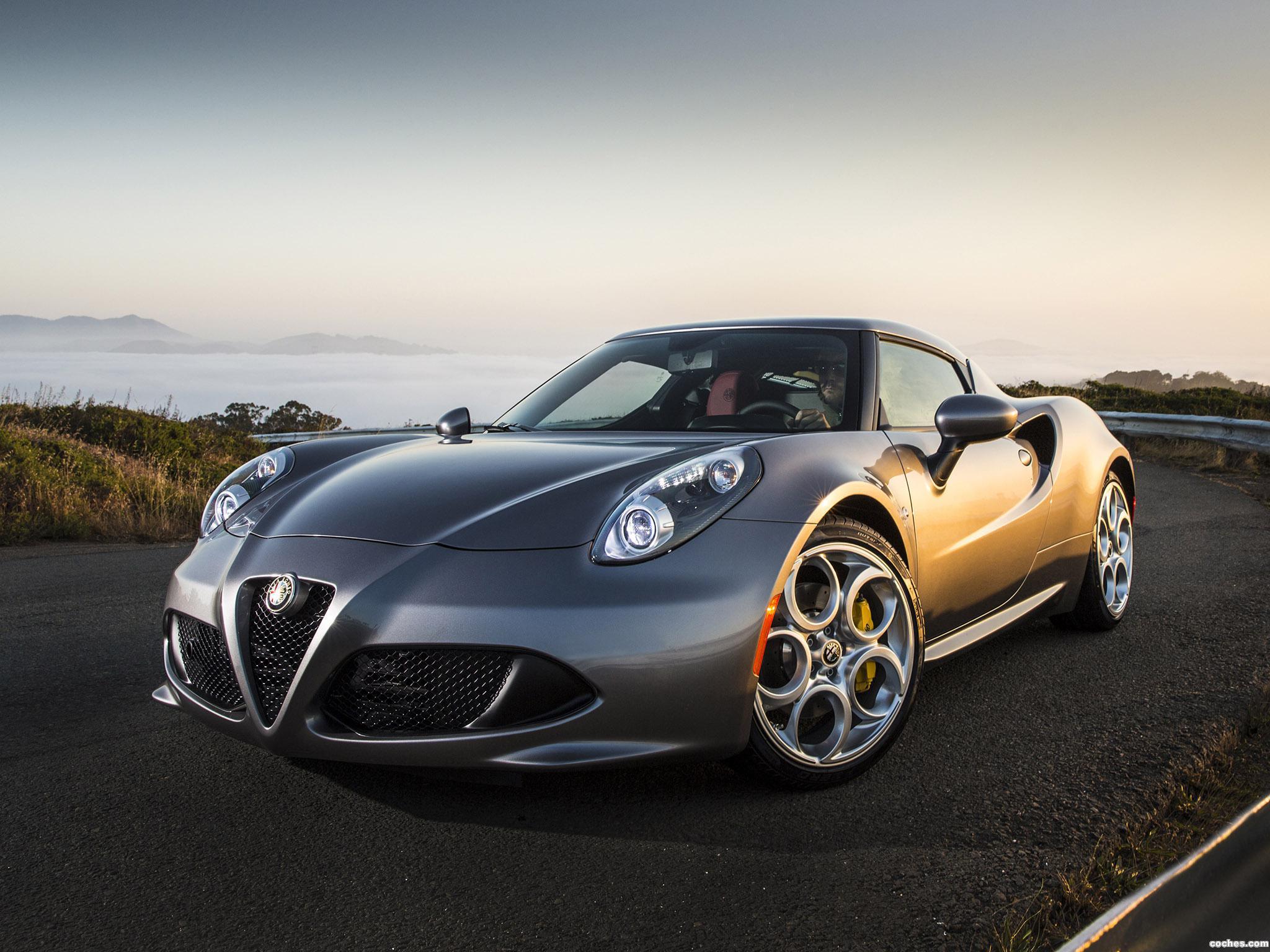 Foto 0 de Alfa Romeo 4C USA 2014