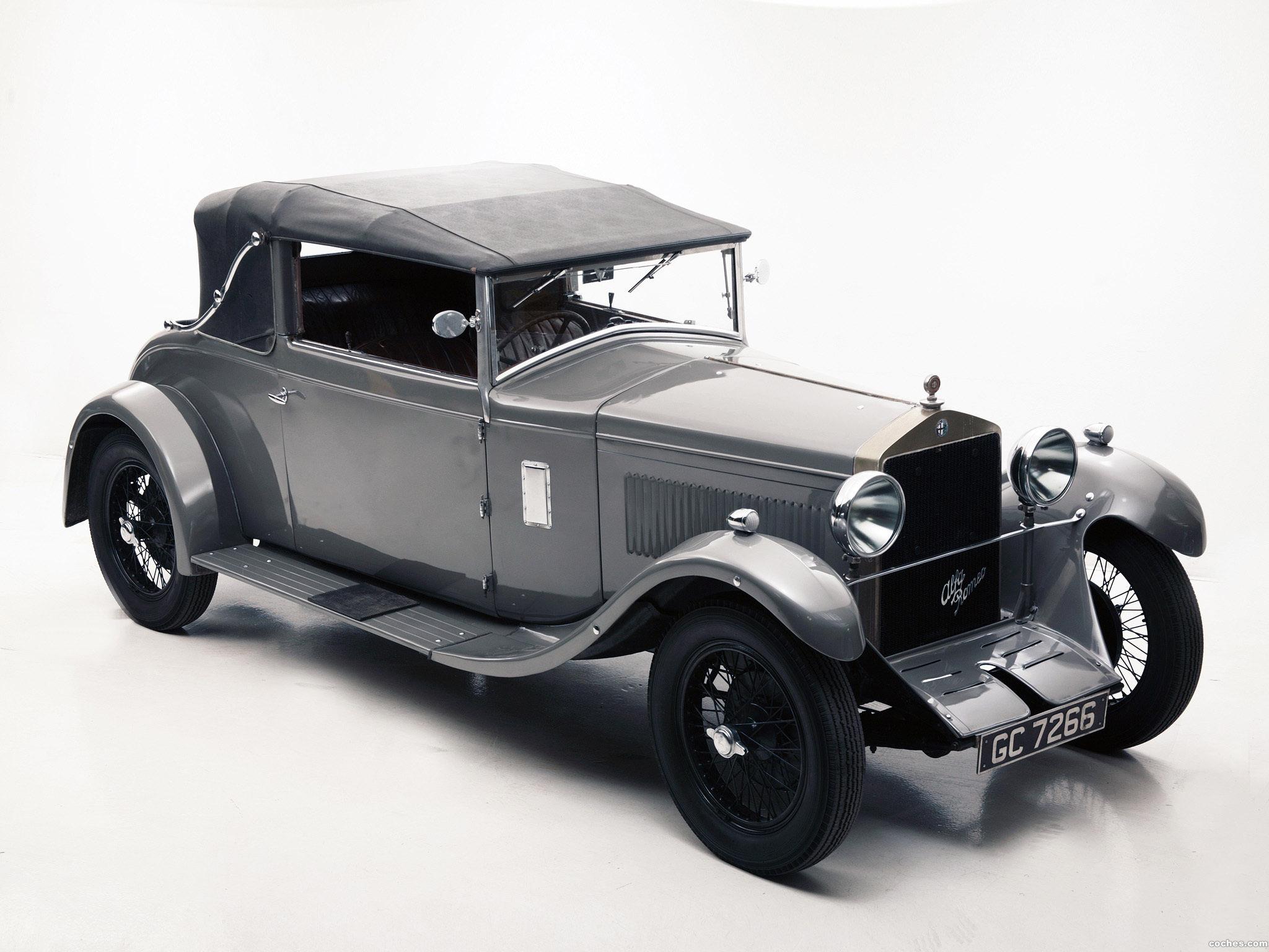 Foto 2 de 6C 1750 Turismo Drophead Coupe 1929
