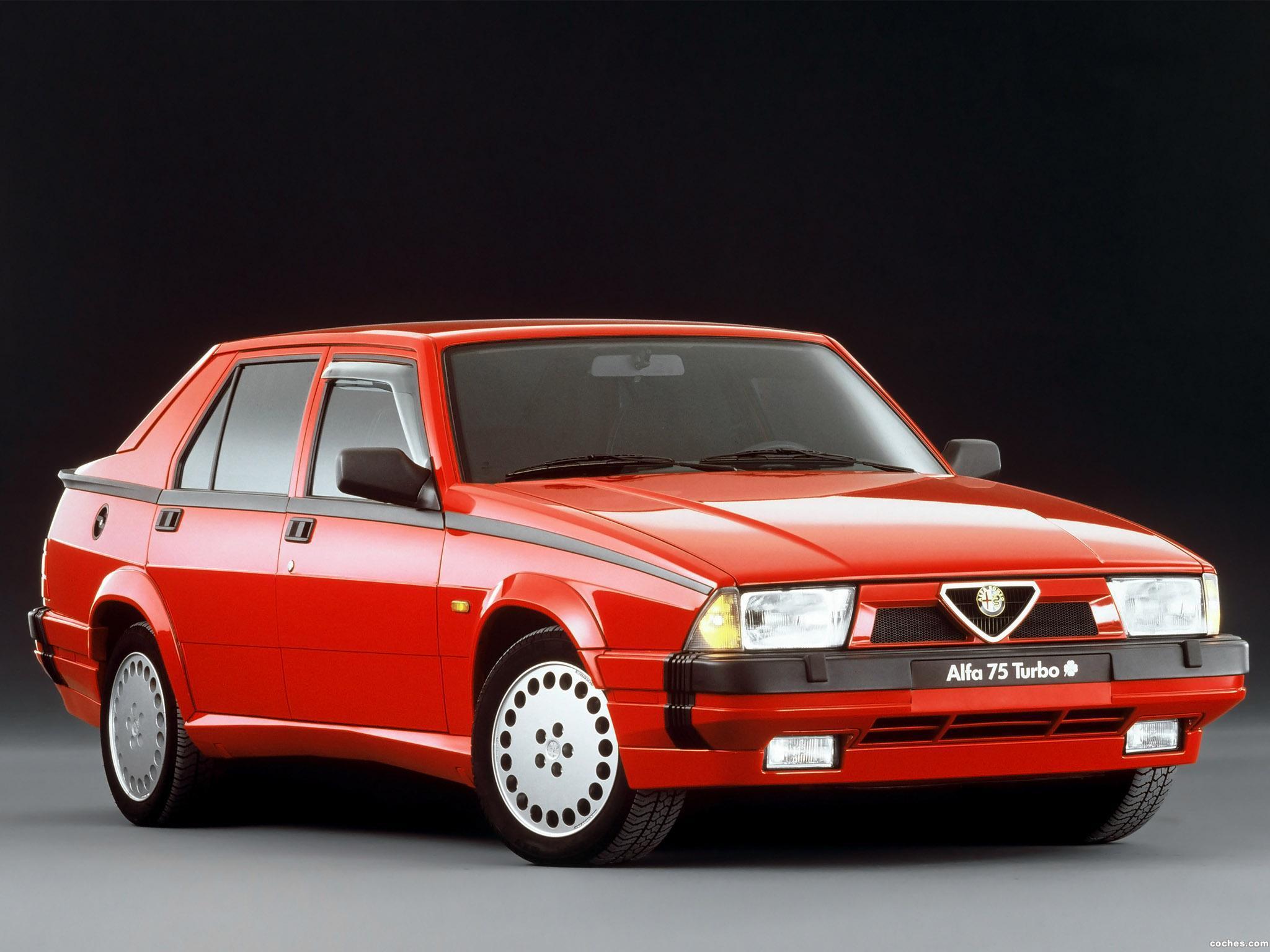 Foto 0 de Alfa Romeo 75 1.8i Turbo Quadrifoglio Verde 162 1988
