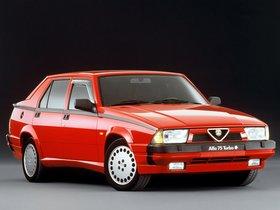 Ver foto 1 de Alfa Romeo 75 1.8i Turbo Quadrifoglio Verde 162 1988