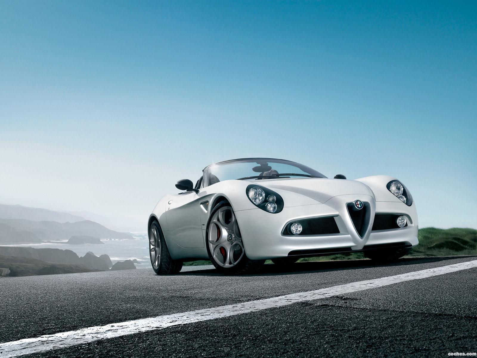 Foto 0 de Alfa Romeo 8C Spider 2008