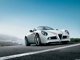 Ver foto 1 de Alfa Romeo 8C Spider 2008