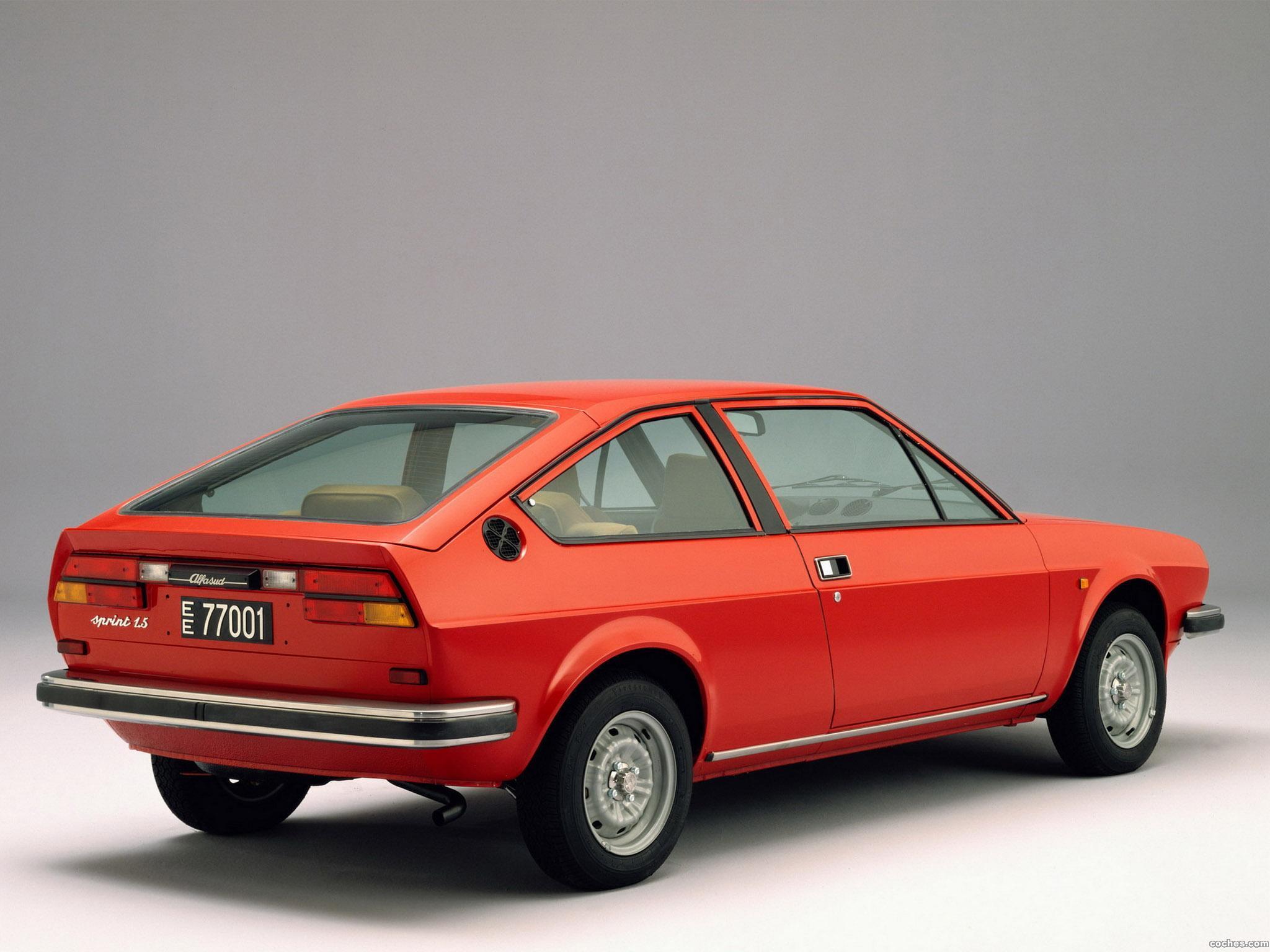 Foto 2 de Alfa Romeo Alfasud Sprint 1976
