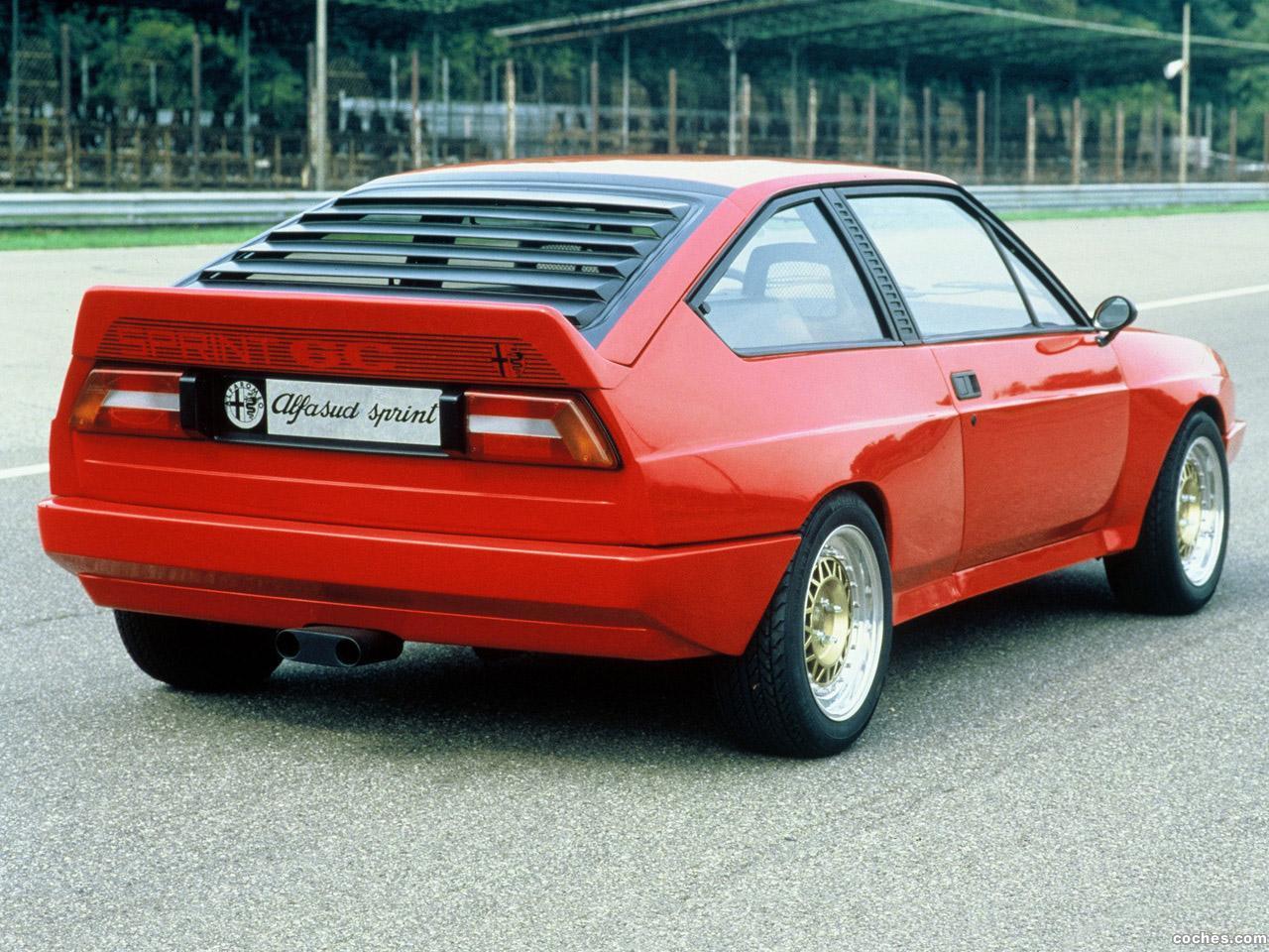 Foto 3 de Alfasud Sprint 6C Prototyp 1982