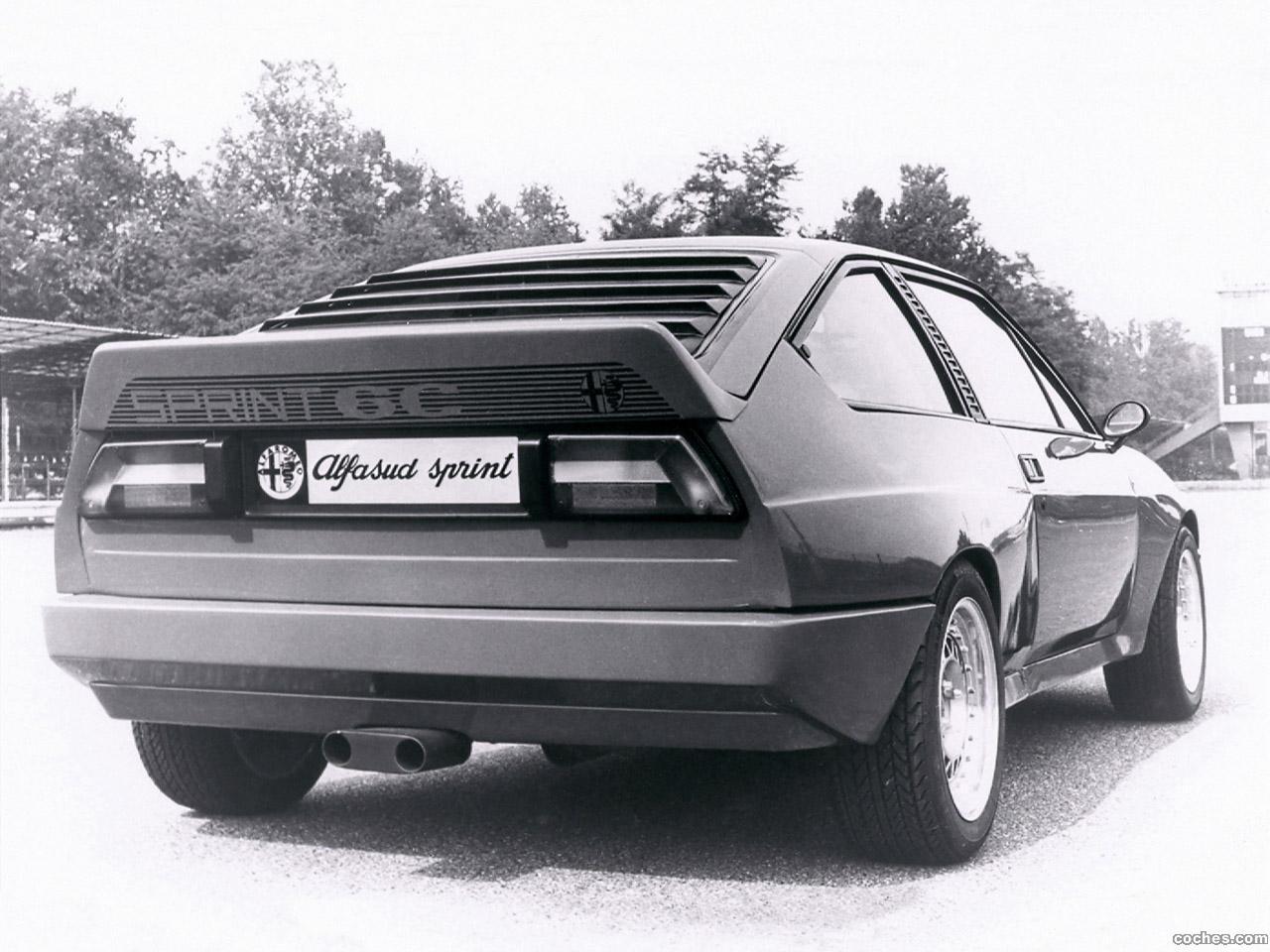 Foto 1 de Alfasud Sprint 6C Prototyp 1982