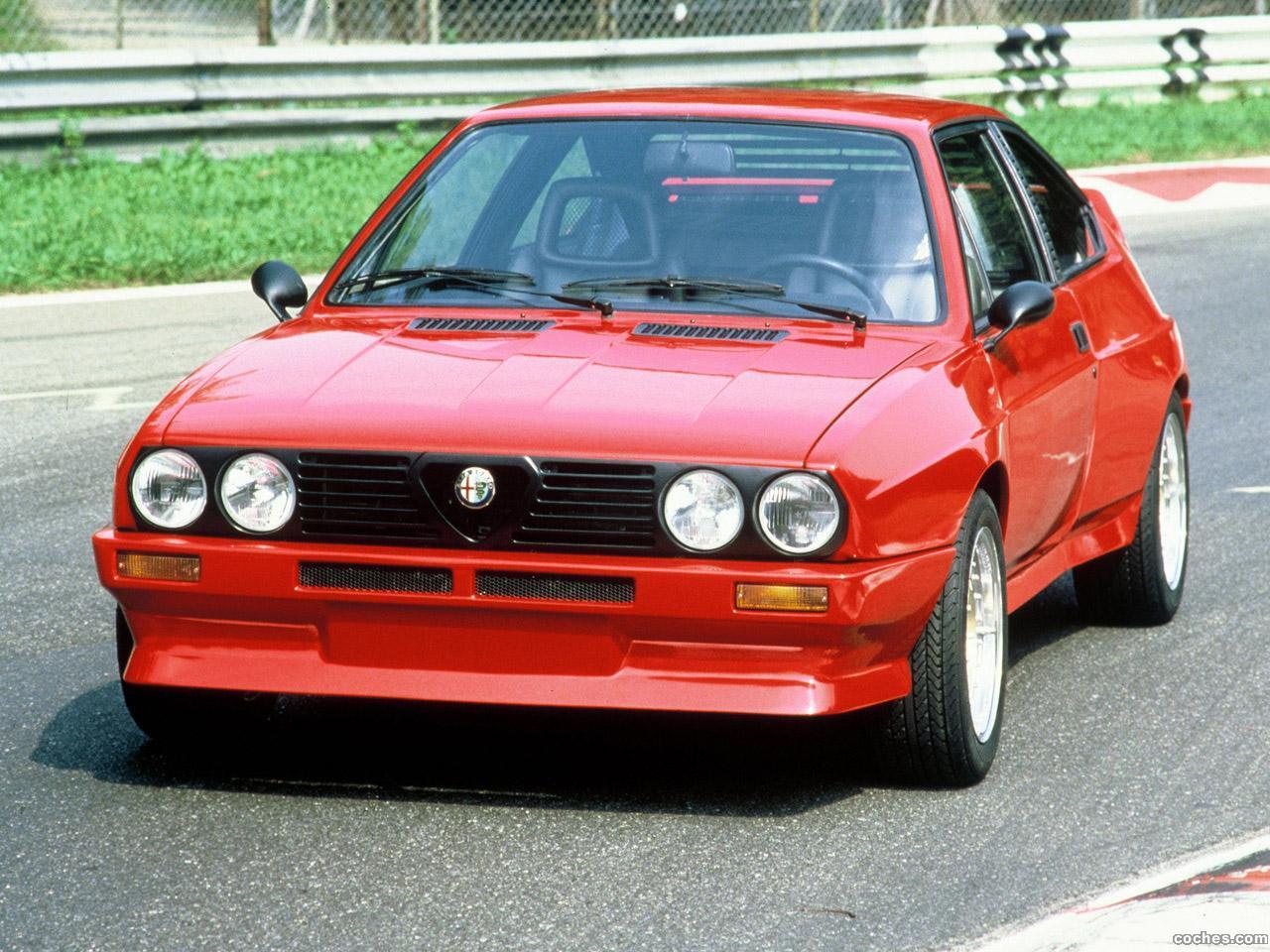 Foto 0 de Alfasud Sprint 6C Prototyp 1982