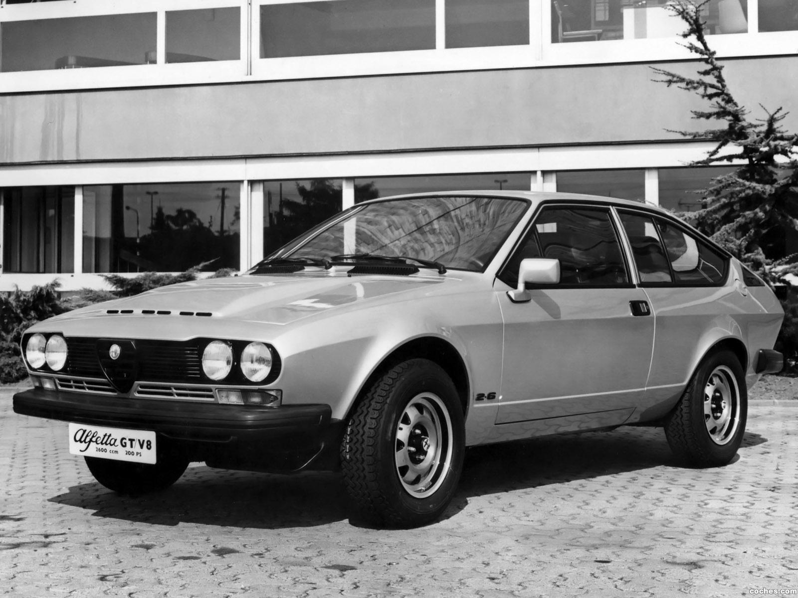 Foto 0 de Alfetta GTV8 2600 Prototype 1977