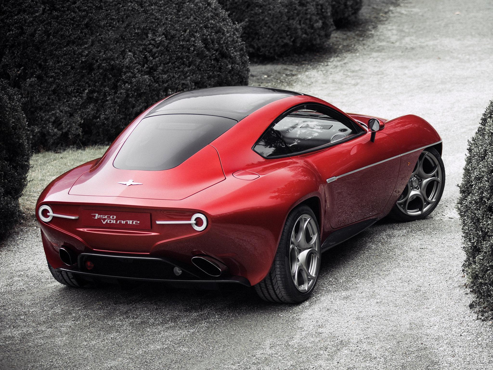 Fotos De Alfa Romeo Disco Volante 2013 Foto 6