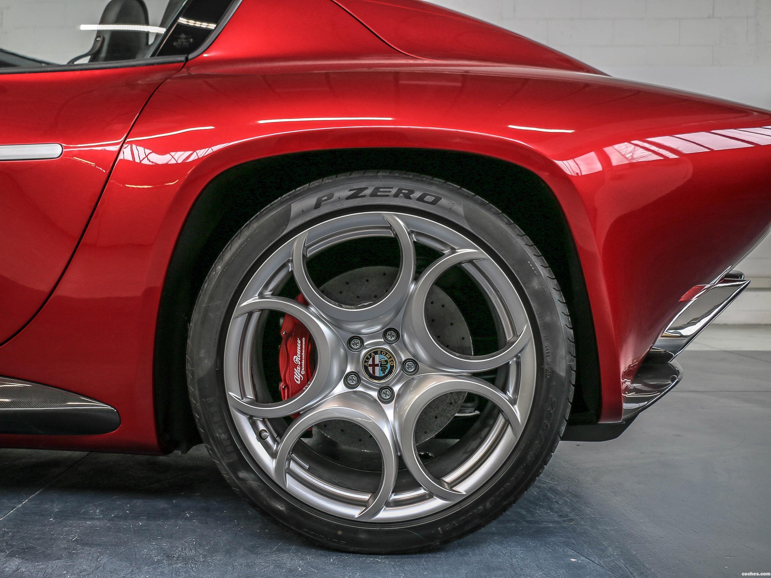 Foto 6 de Alfa Romeo Disco Volante Spyder by Touring 2018