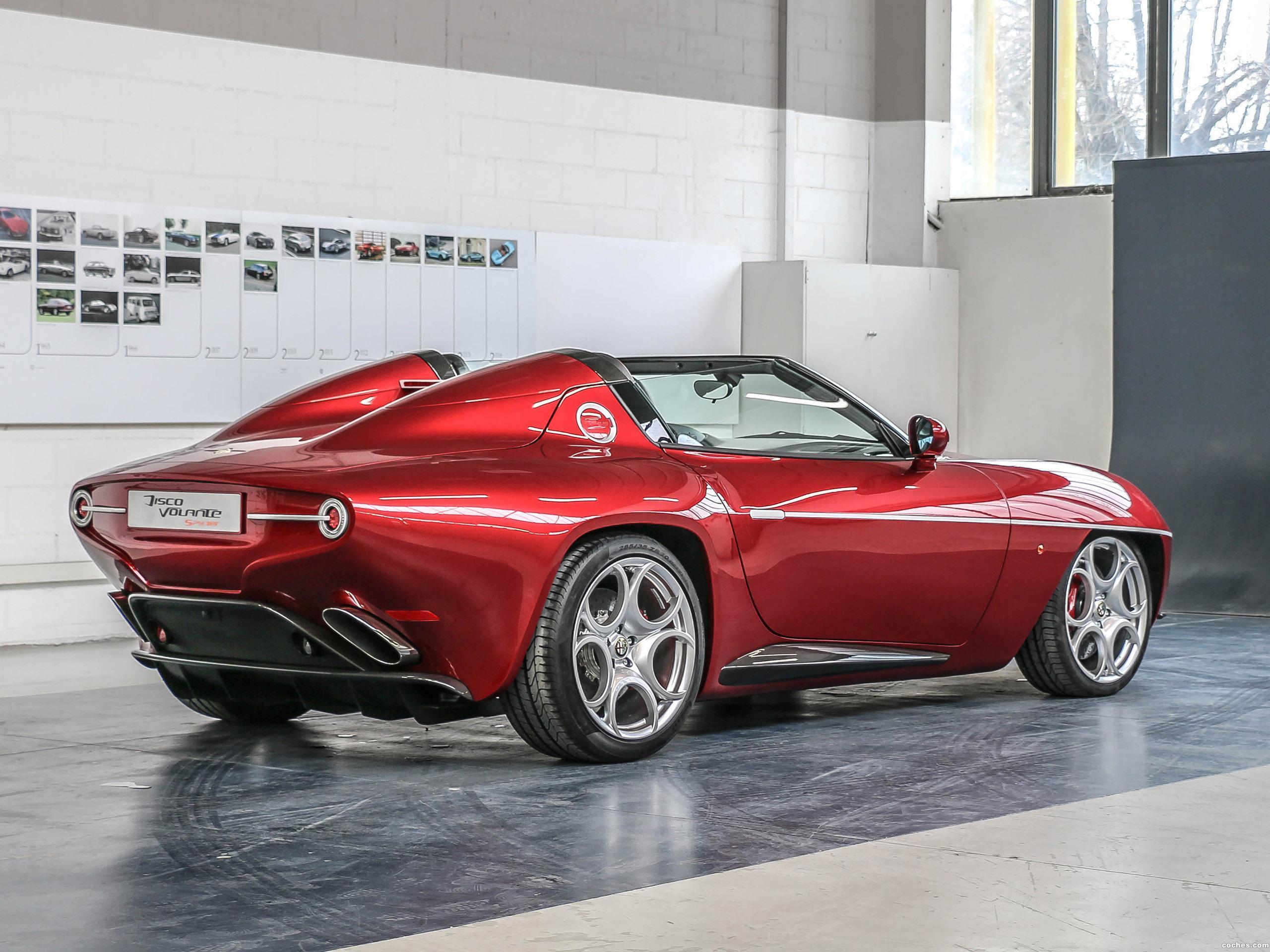 Foto 5 de Alfa Romeo Disco Volante Spyder by Touring 2018