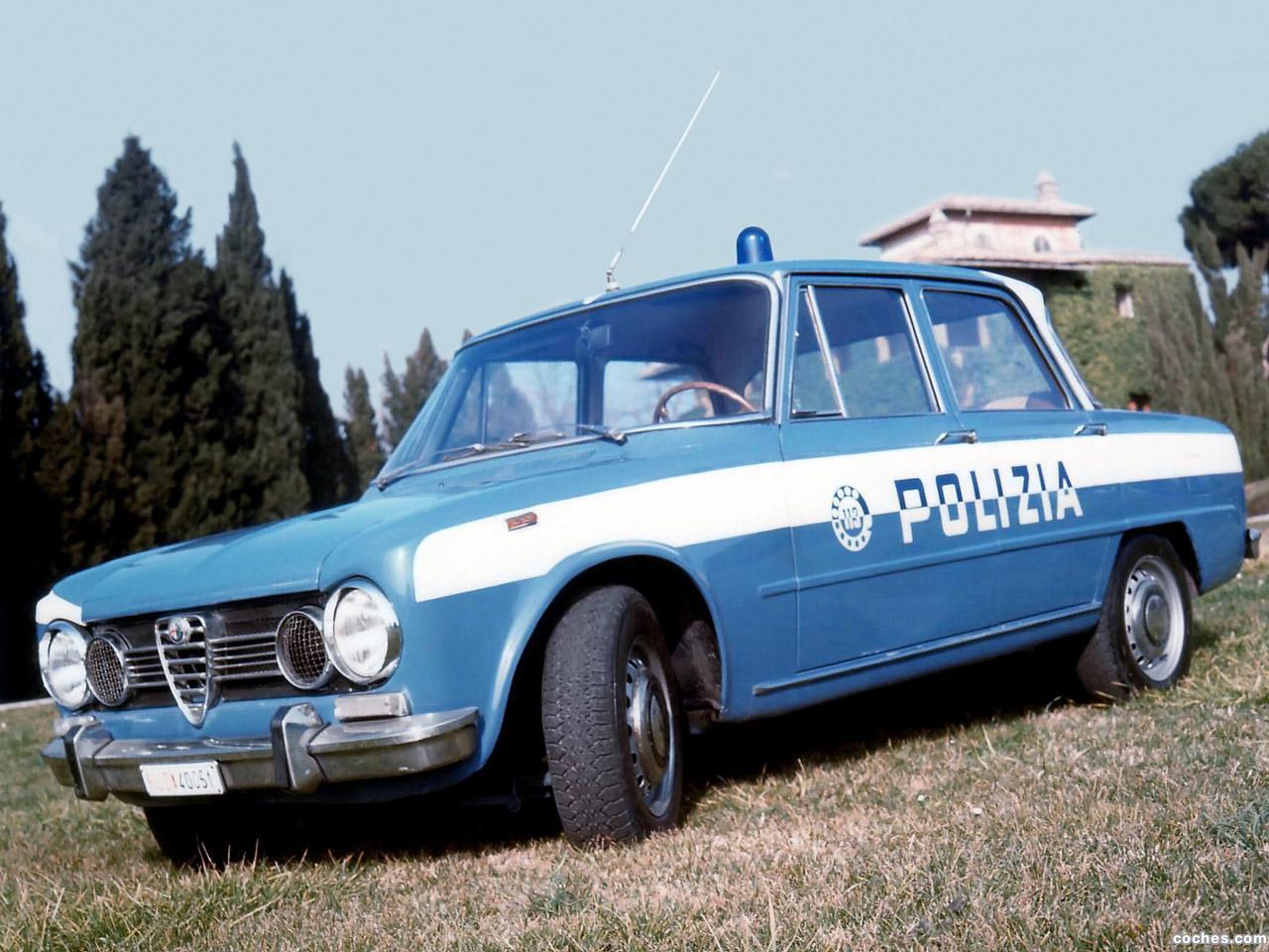 Foto 0 de Alfa Romeo Giulia 1600 Super Polizia 1966