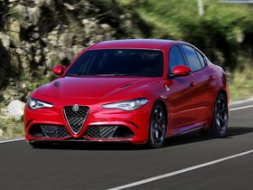 Ver foto 7 de Alfa Romeo Giulia Quadrifoglio 2015
