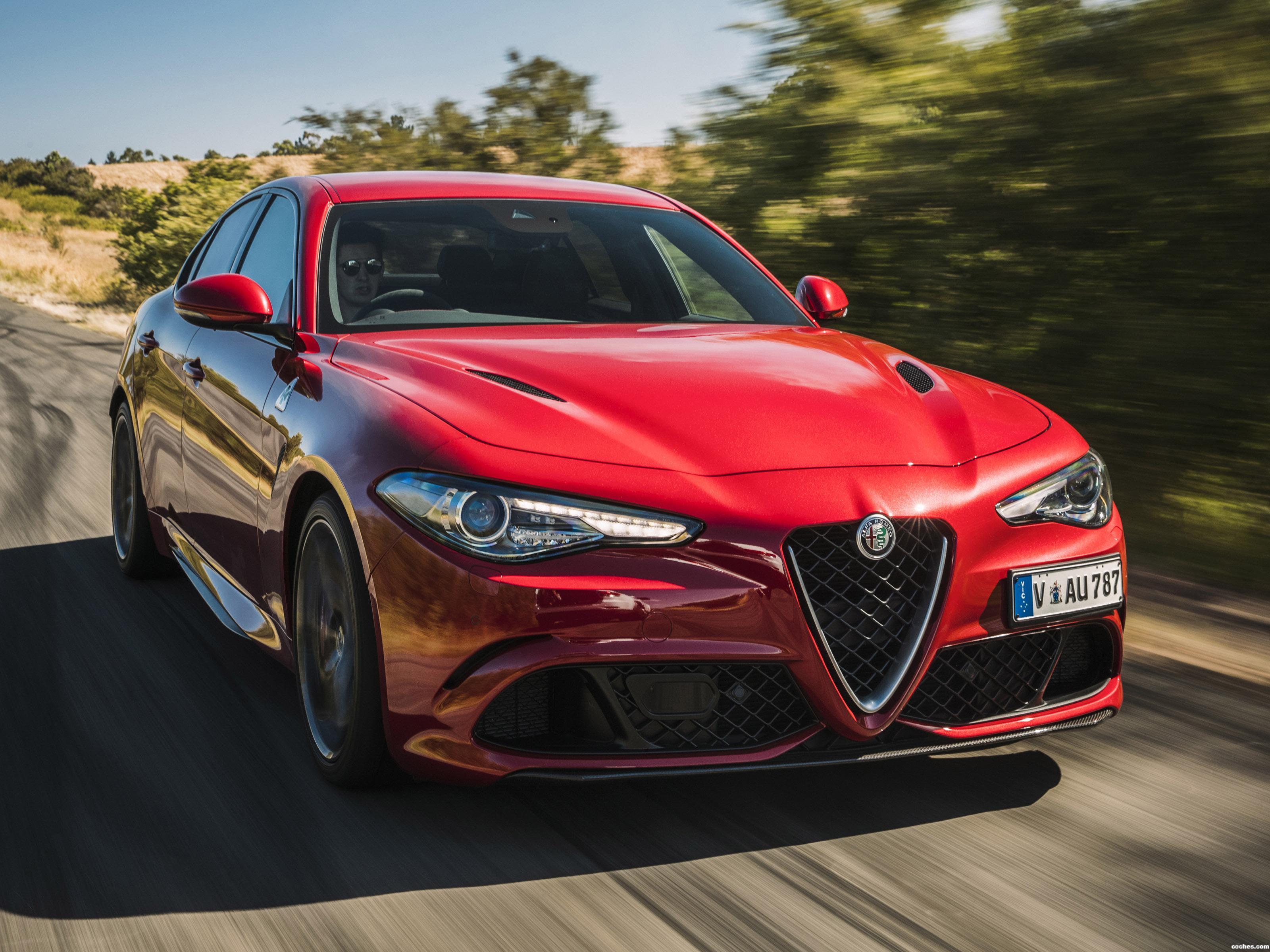 Foto 0 de Alfa Romeo Giulia Quadrifoglio 952 Australia 2017