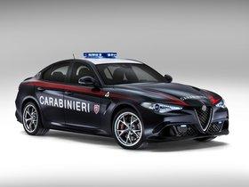 Ver foto 6 de Alfa Romeo Giulia Quadrifoglio Verde Carabinieri 2016