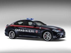 Ver foto 5 de Alfa Romeo Giulia Quadrifoglio Verde Carabinieri 2016
