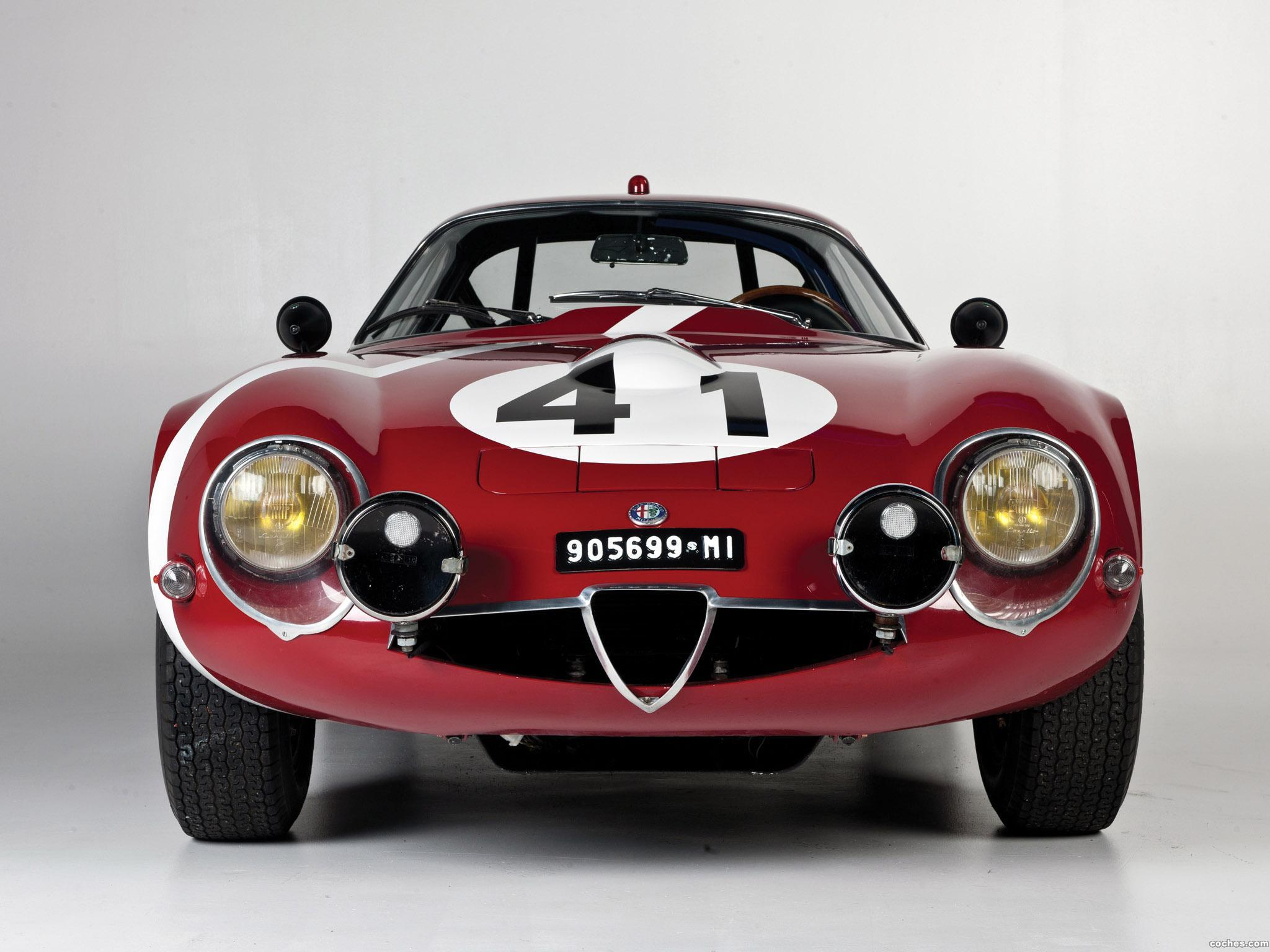 Foto 4 de Alfa Romeo Giulia TZ Coupe Le-Mans 1964