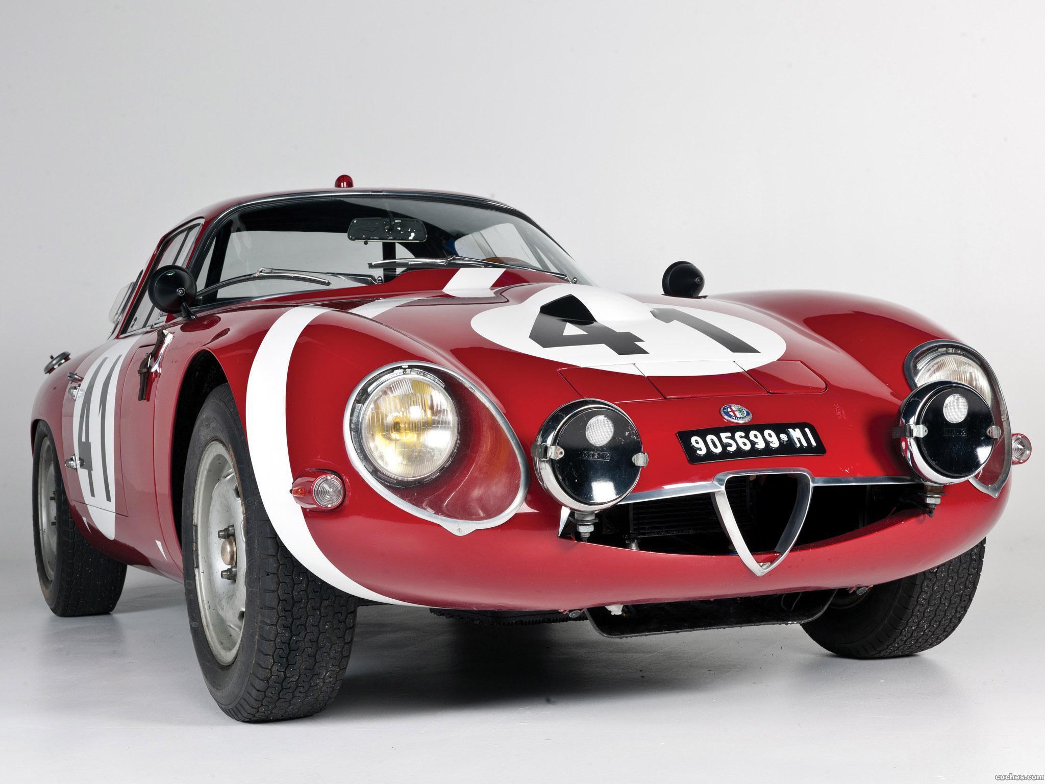 Foto 0 de Alfa Romeo Giulia TZ Coupe Le-Mans 1964