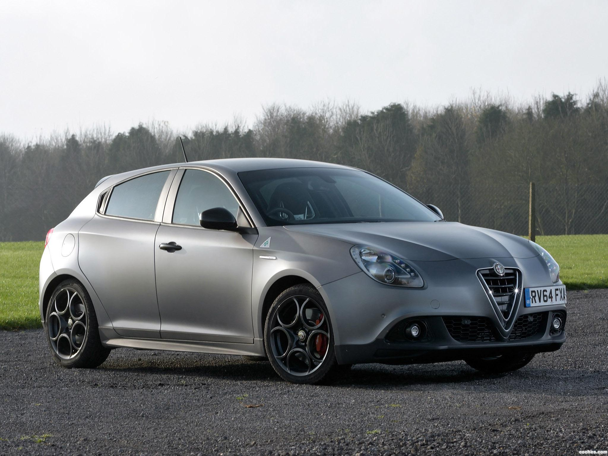 Foto 5 de Alfa Romeo Giulietta Quadrifoglio Verde Launch Edition UK 2014
