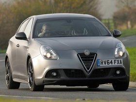 Ver foto 2 de Alfa Romeo Giulietta Quadrifoglio Verde Launch Edition UK 2014