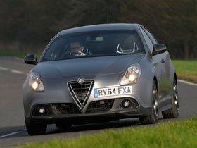Ver foto 1 de Alfa Romeo Giulietta Quadrifoglio Verde Launch Edition UK 2014