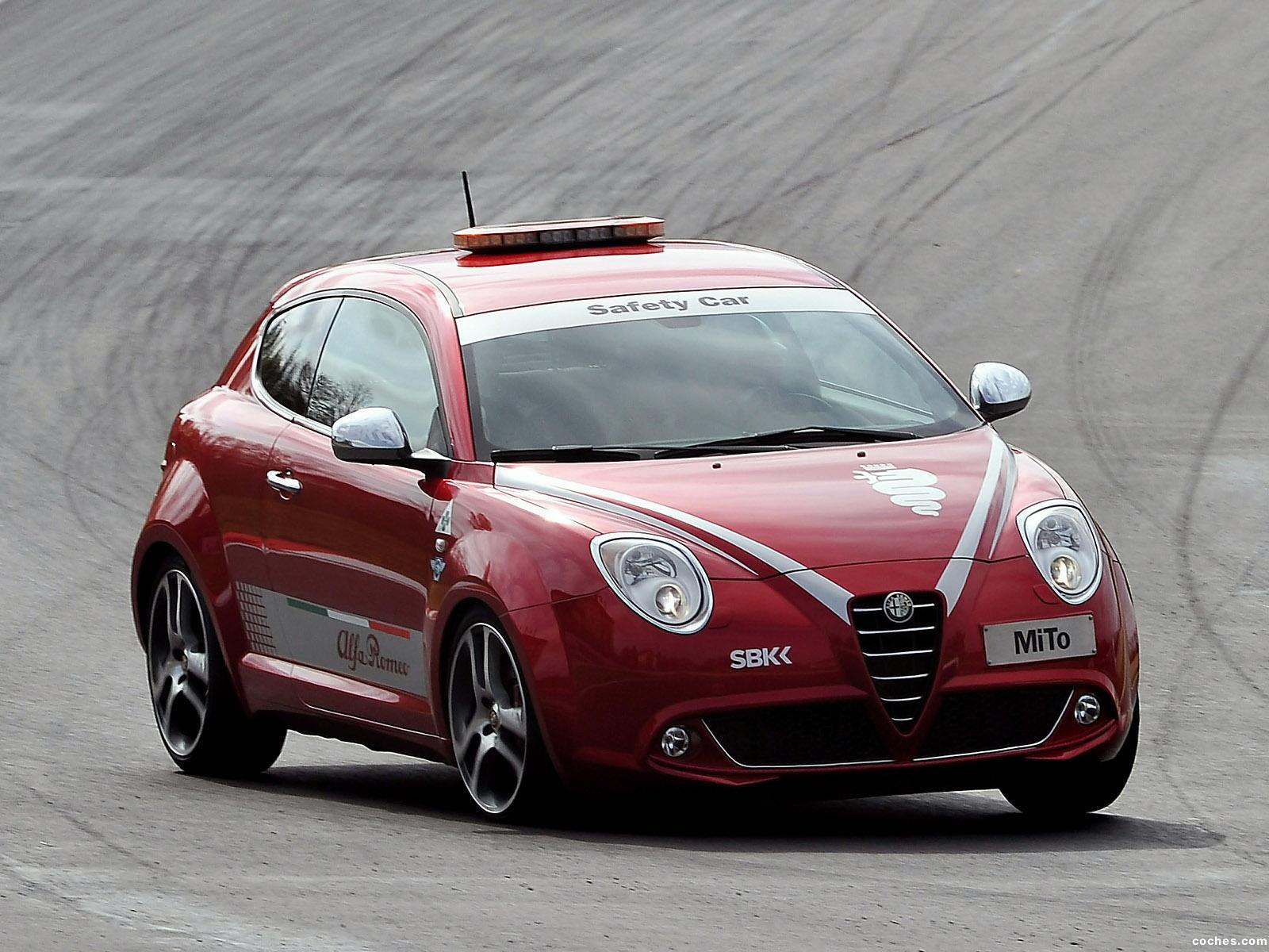Foto 0 de MiTo Quadrifoglio Verde SBK Safety Car 2011