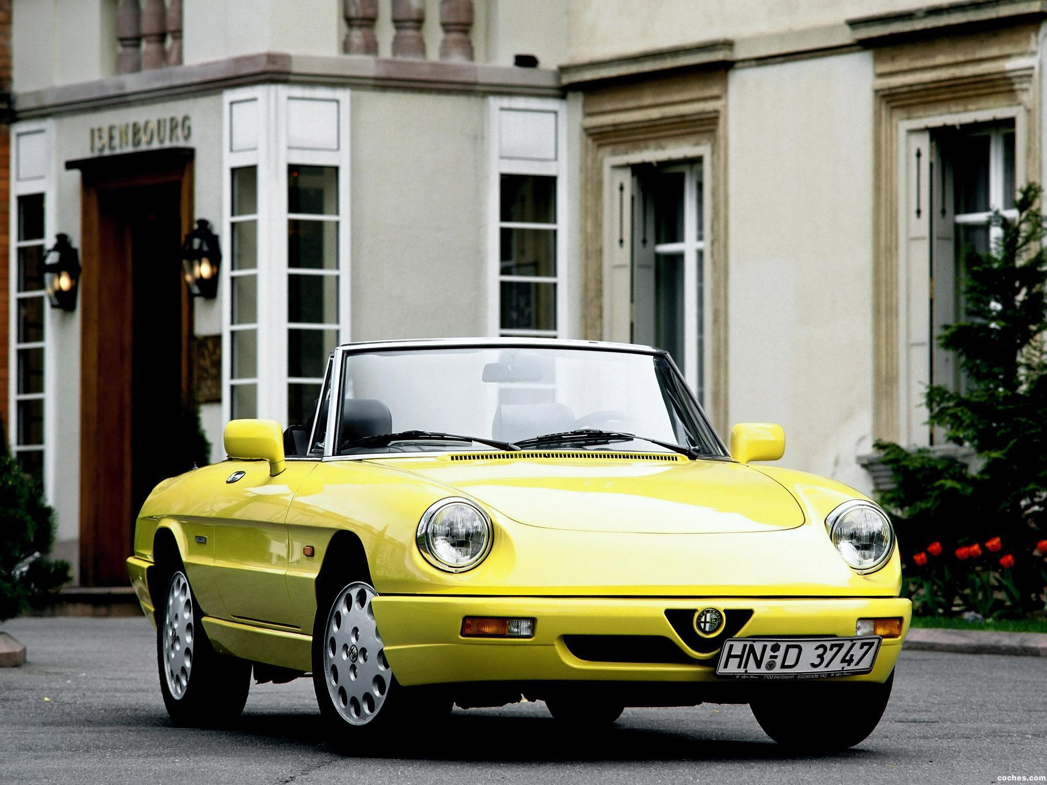 Foto 0 de Alfa Romeo Spider Serie 4 1990
