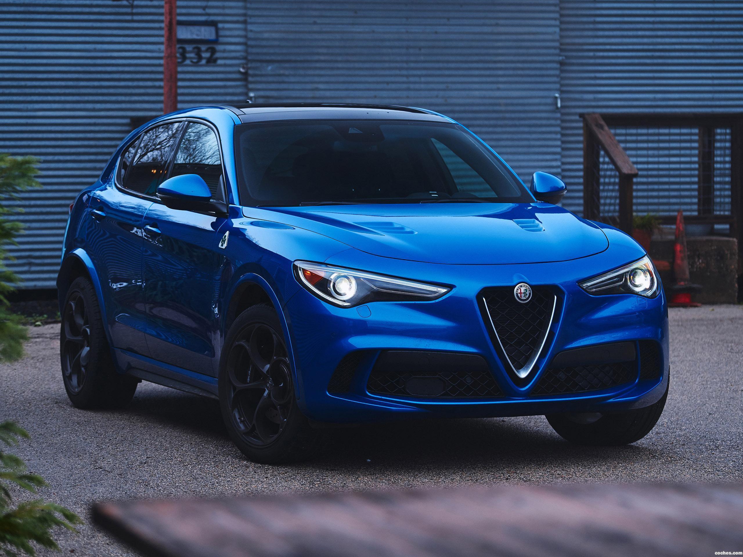 Foto 0 de Alfa Romeo Stelvio Quadrifoglio USA 2018