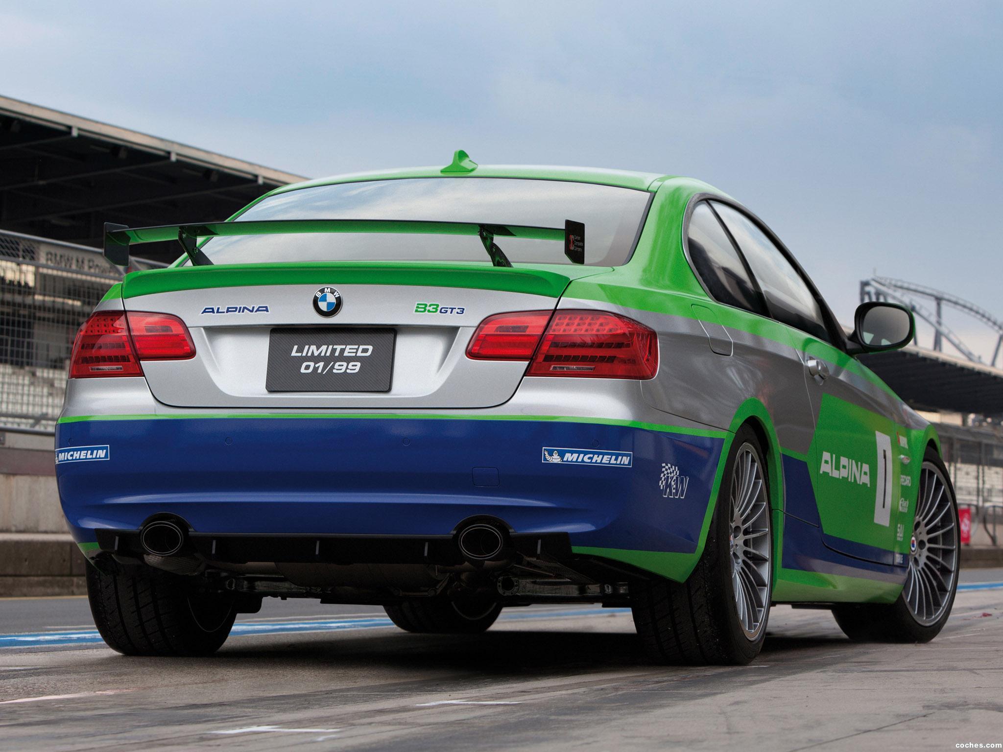 Foto 7 de BMW Alpina B3 GT3 E92 2012