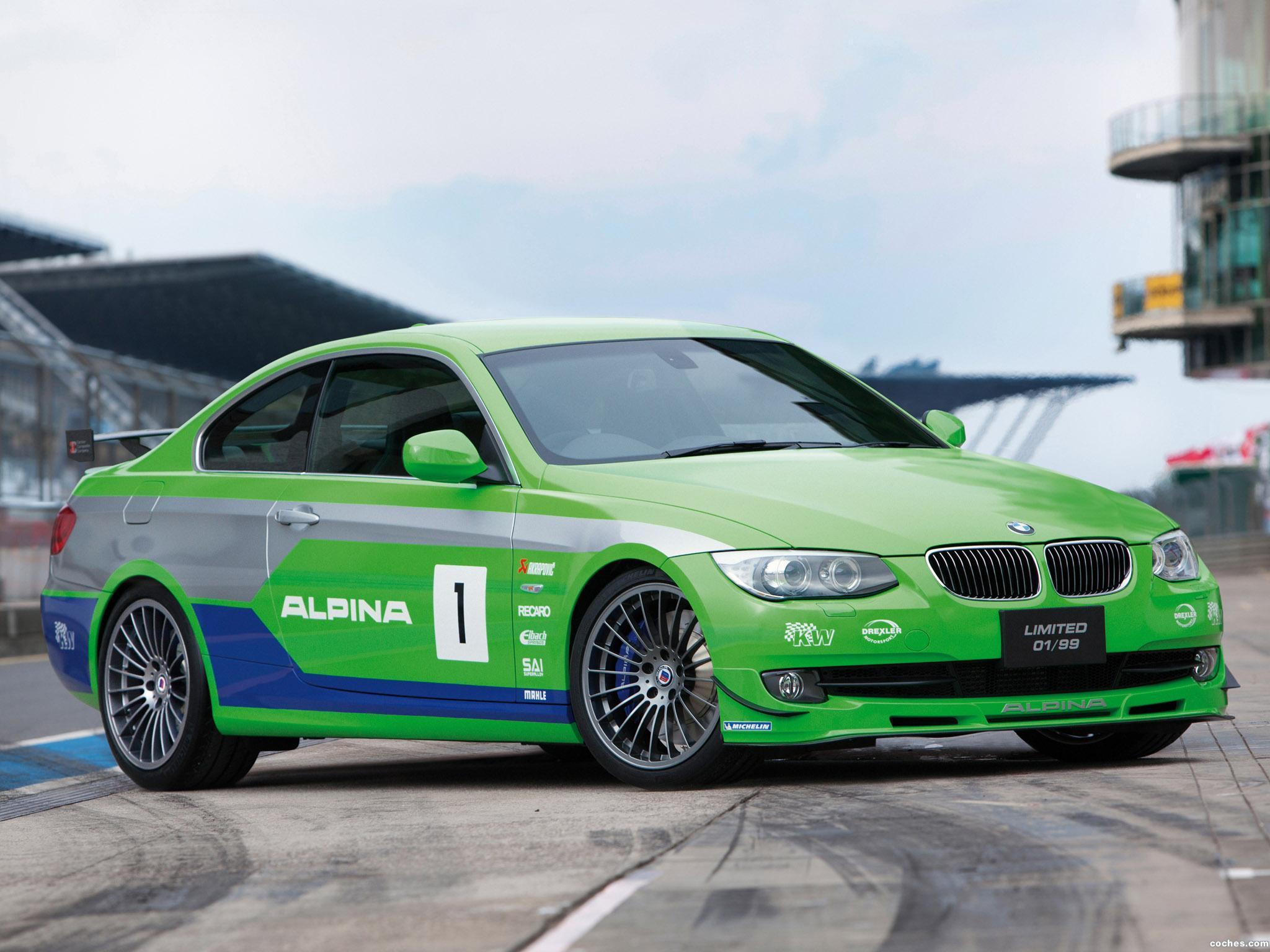 Foto 6 de BMW Alpina B3 GT3 E92 2012